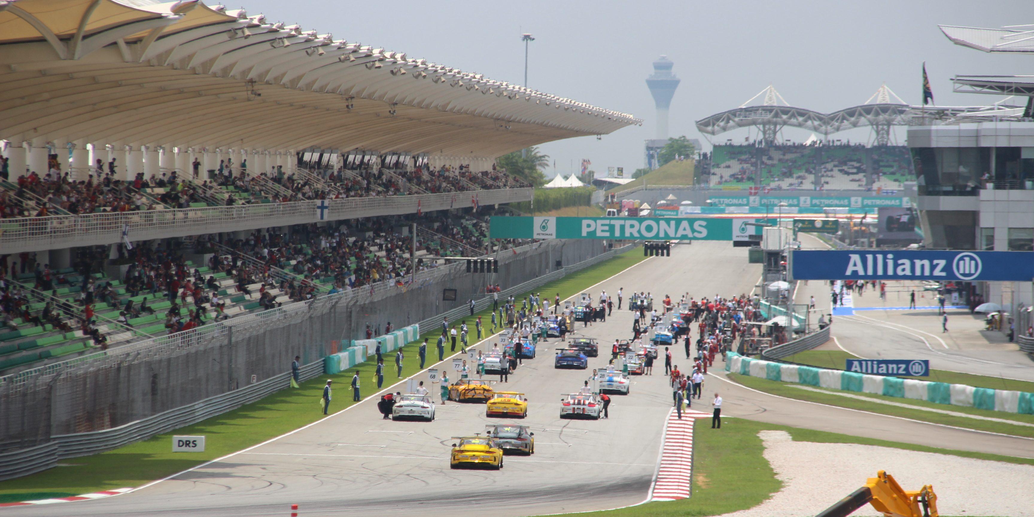 Formel 1 Strecke Kuala Lumpur